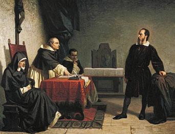 گالیله در دادگاه تفتیش عقاید