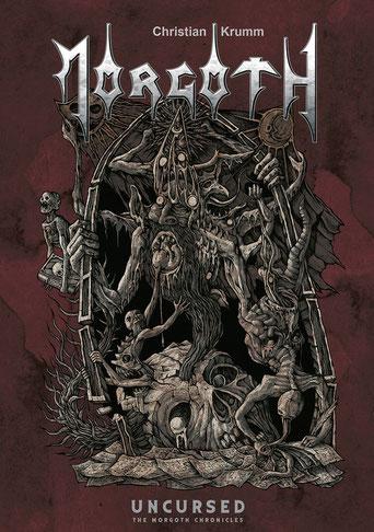 Das Cover der Morgoth-Biografie von Costin-Alexandru Chioreanu