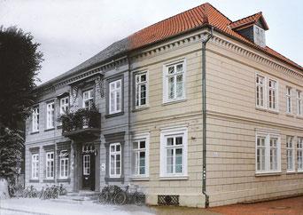 Bremervörde, altes Rathaus, Tügel