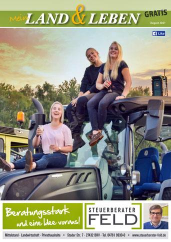 Land und Leben Regional Magazin 2021 für OHZ und ROW und BRV und umzu