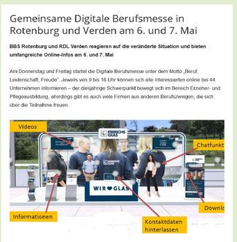 digitale Berufsmesse Rotenburg und Verden 2021