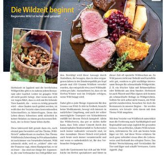 wildfleisch kaufen regianal