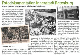 historische Fotos Rotenburg Wümme