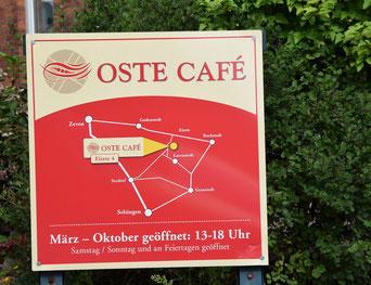 Wassermühle Eitzmühlen, Oste Cafee zu Fuß von Selsingen erreichbar