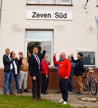 Zeven Bahmhof Fricke SPD