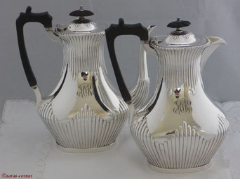 Antike Silber Kaffeeservice