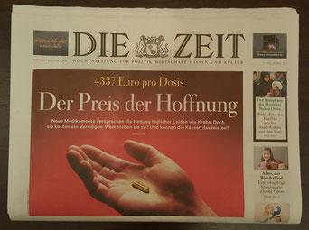 Die Titelstory der ZEIT vom 07. Januar 2016