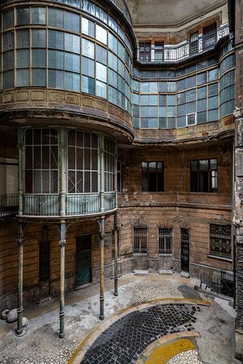 Adria Palace Budapest - Hinterhof