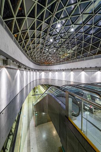 Bikás Metro Station Budapest