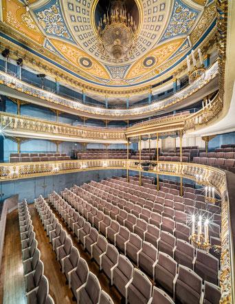 Laowa 15mm Shift Coburg Theater Architektur Zuschauerraum