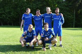 h.r.v.l.: Markus Schweigert, Moritz Höckele, Tim Störkle, Marco Kühner; v.r.v.l: Patrick Schneider, Alexander Thau