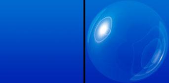 Verzerrungsfilter Polarkoordinaten: Glaskugeln und Seifenblasen