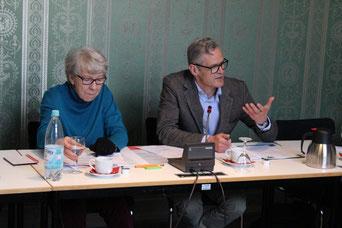 Igor Wolansky zusammen mit Ingrid Stahmer (†) 2017