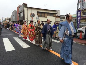 佐倉市 時代まつり 仮装行列