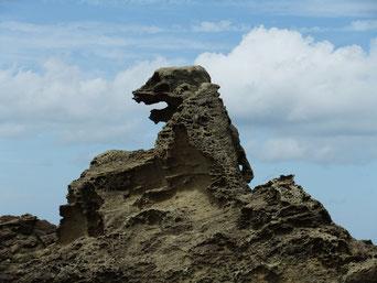 秋田と言えば、秋田犬とゴジラ岩…短絡的か。