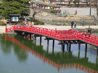 松本城のお堀