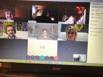 Ausschuss-Sitzung per Videokonferenz