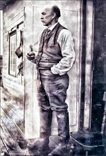 Napoléon Alexandre Comeau (1846-1923) (source: fonds Napoléon-Alexandre-Comeau, société historique de la Côte-Nord)