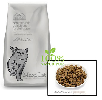 Trockenfutter für Katzen von Reico das Feinschmecker-Menü für alle Katzenrassen