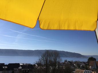 Garten - Ferienwohnung MIRABELLE - Sipplingen Bodensee