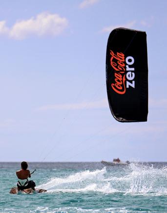 Coca Cola Zero Ozone Kite