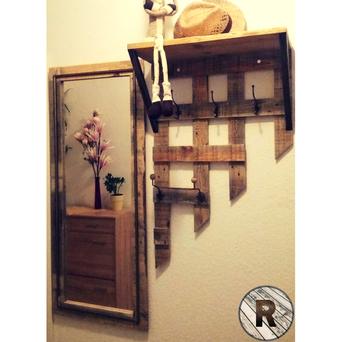 Garderobe Aus Holz Reluka Mobel Holz Unikate
