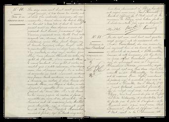 Acte de décès d'un inconnu dans les bois de Vélizy - 16 mai 1895.