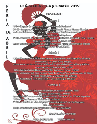 Fiestas en Peñiscola Feria de Abril