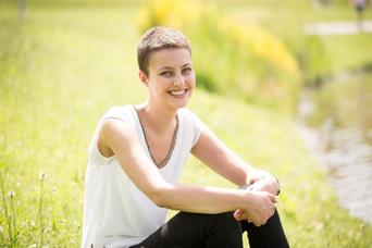 Blutspende-Empfängerin Manuela Wittmann ist ihren Lebensrettern dankbar: Dazu gehören Spender, die Vollblut und Thrombozythen gegeben haben. (Bild: Stefan Heigl)