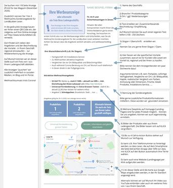 Werbung Online Regional ROW, OHZ, Zeven, BRV