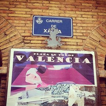 I'm in Valencia!