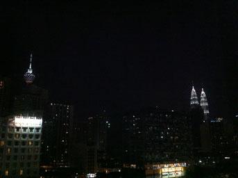KL TowerとPertronas Twin Towers