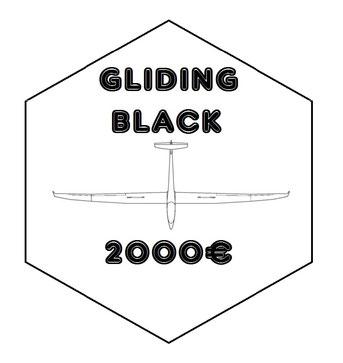 """BLACK : Pack """"GLIDING DIAMOND"""" + Logo de votre entreprise sur ma combinaison de vol, sur mes polos et t-shirts + images exclusives pour communication interne et externe"""