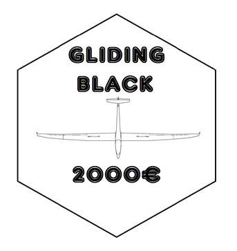 BLACK : Pack 'GLIDING DIAMOND' + MAIN PARTNER OF THE SEASON : your logo on my flight suit, my glider, my trailer + Amazing video footage from the sky for your internal and external communication