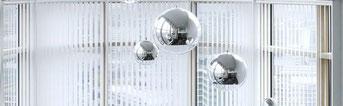 Алюминиевые эркерные жалюзи