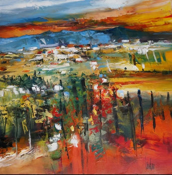 """Air terre"" - 60x60 - En exposition"
