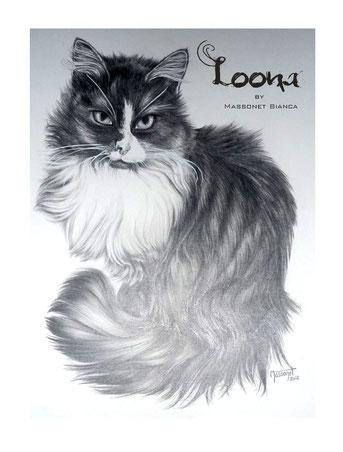 Loona . pawtrait by Bianca Massonet