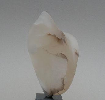 cristallisation - albâtre caramel translucide 2015 17,5cm