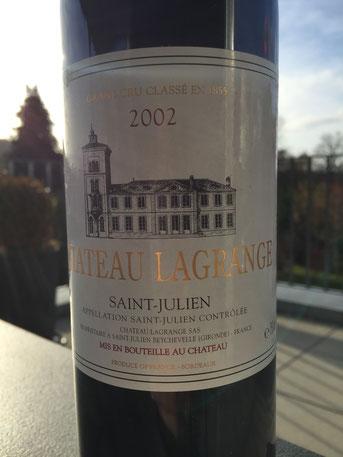 Château Lagrange, St. Julien, 2002
