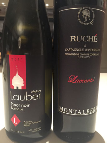 Links: Lauber Pinot Noir Barrique, Plandaditsch