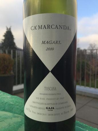 Magari, Ca'Marcanda (Gaja), 2010