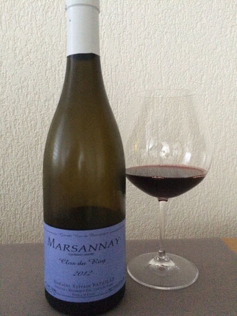 Marsannay, Clos du Roy, 2012