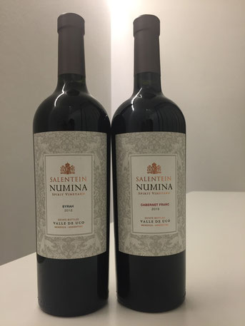 Numina, Syrah | Cabernet Franc, Salentine, 2012