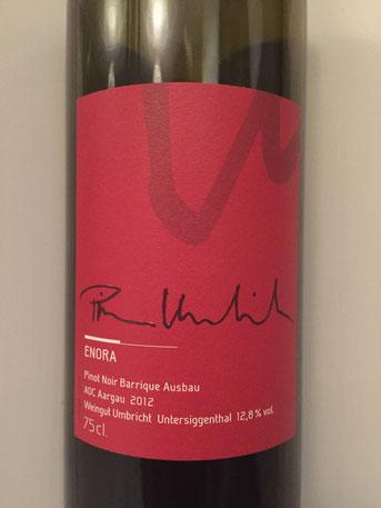 Pinot Noir Enora, Weingut Umbricht, 2012
