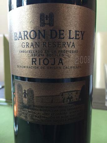 Baron de Ley, Gran Reserva, 2008