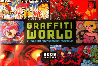 Graffiti World Calendar - US version