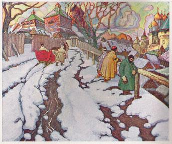La Sainte Russie 1918 120x145 huile sur toile André Aaron Blils