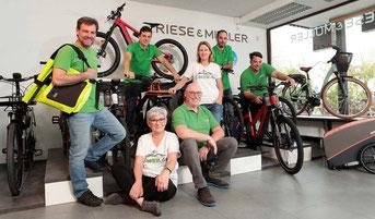 Die e-motion e-Bike Experten in der e-motion e-Bike Welt in München Süd
