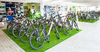 Die e-motion e-Bike Welt in Kleve
