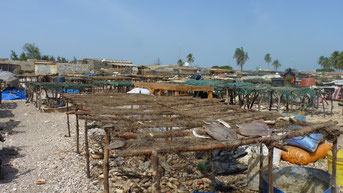 Village de ^pêcheurs, Djifer, Sénégal